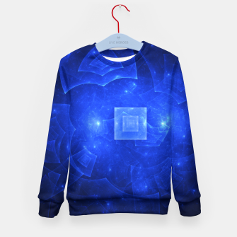 Thumbnail image of Blue Square Universe 2 Kid's sweater, Live Heroes