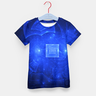 Thumbnail image of Blue Square Universe 2 Kid's t-shirt, Live Heroes