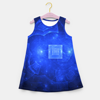Thumbnail image of Blue Square Universe 2 Girl's summer dress, Live Heroes