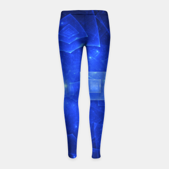 Thumbnail image of Blue Square Universe 2 Girl's leggings, Live Heroes