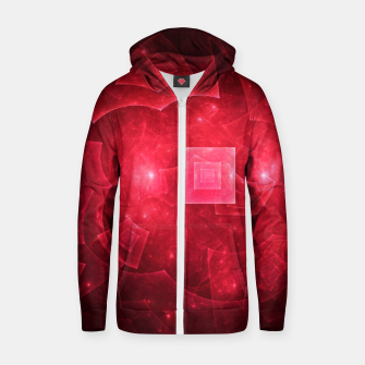 Thumbnail image of Red Square Universe Zip up hoodie, Live Heroes