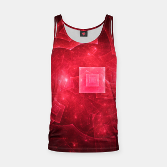 Thumbnail image of Red Square Universe Tank Top, Live Heroes