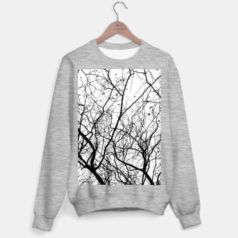 Miniaturka Branches in black and white Sweater regular, Live Heroes
