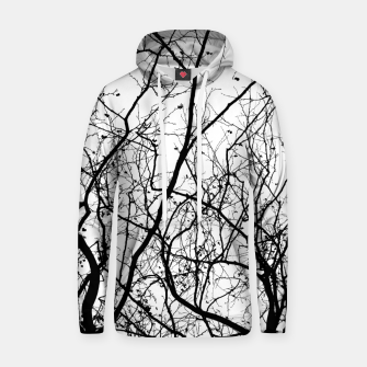 Miniature de image de Branches in black and white Hoodie, Live Heroes
