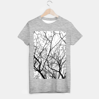 Miniaturka Branches in black and white T-shirt regular, Live Heroes