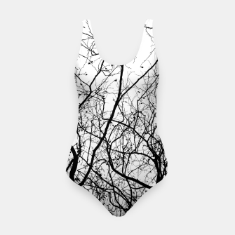 Miniaturka Branches in black and white Swimsuit, Live Heroes
