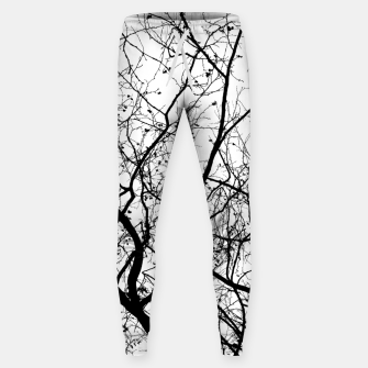 Miniaturka Branches in black and white Sweatpants, Live Heroes