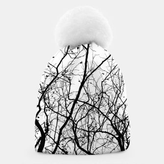 Miniaturka Branches in black and white Beanie, Live Heroes