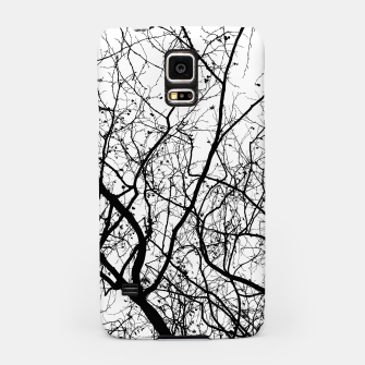 Miniaturka Branches in black and white Samsung Case, Live Heroes