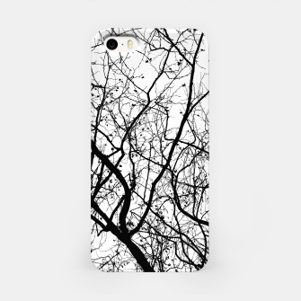 Miniature de image de Branches in black and white iPhone Case, Live Heroes
