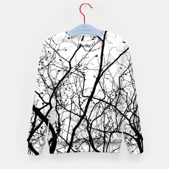 Miniaturka Branches in black and white Kid's sweater, Live Heroes
