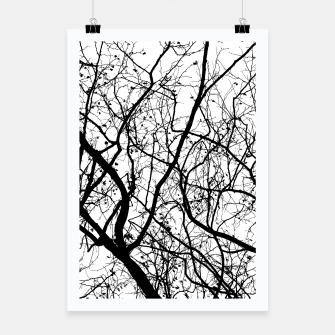 Miniature de image de Branches in black and white Poster, Live Heroes