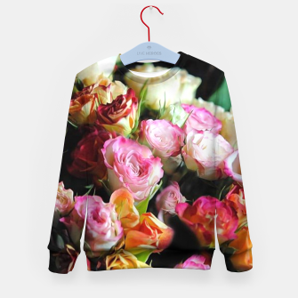 Miniaturka Mini Tea Roses Kid's sweater, Live Heroes