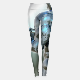 Thumbnail image of Male Chrome Bodybuilder Leggings, Live Heroes