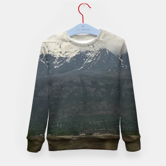 Miniaturka Mountains West Kid's sweater, Live Heroes