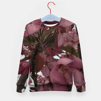 Miniaturka Montana Flowering Trees Kid's sweater, Live Heroes