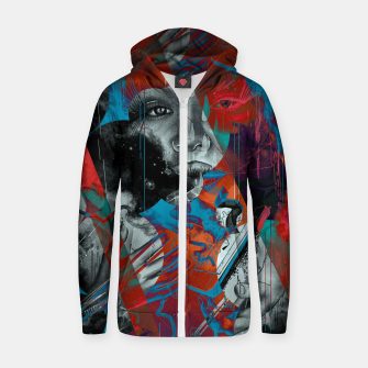 Thumbnail image of Embrace Zip up hoodie, Live Heroes