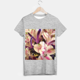 Thumbnail image of Pink and White Flowers T-shirt regular, Live Heroes