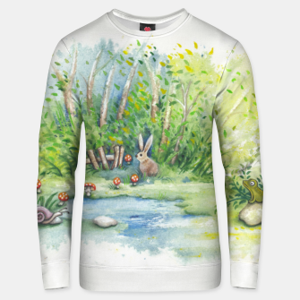 Miniaturka Mushrooms, Bunny, Frog and Snail Unisex sweater, Live Heroes