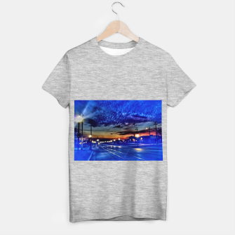 Thumbnail image of Bus Stop Sunrise T-shirt regular, Live Heroes