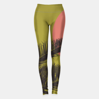 Thumbnail image of Beach dream 2 Leggings, Live Heroes