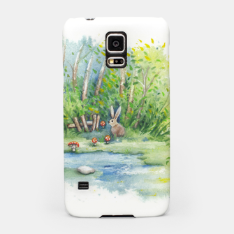 Thumbnail image of Mushrooms, Bunny, Frog and Snail Samsung Case, Live Heroes