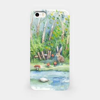 Thumbnail image of Mushrooms, Bunny, Frog and Snail iPhone Case, Live Heroes