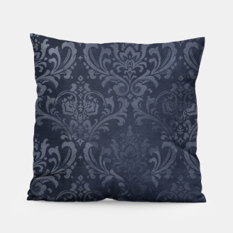 Thumbnail image of Navy & Gold luxury pattern Poduszka, Live Heroes