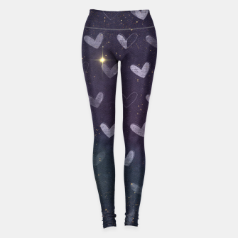 Navy & Gold luxury pattern Legginsy thumbnail image