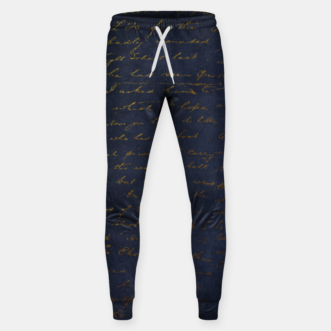 Image of Navy & Gold luxury pattern Spodnie - Live Heroes