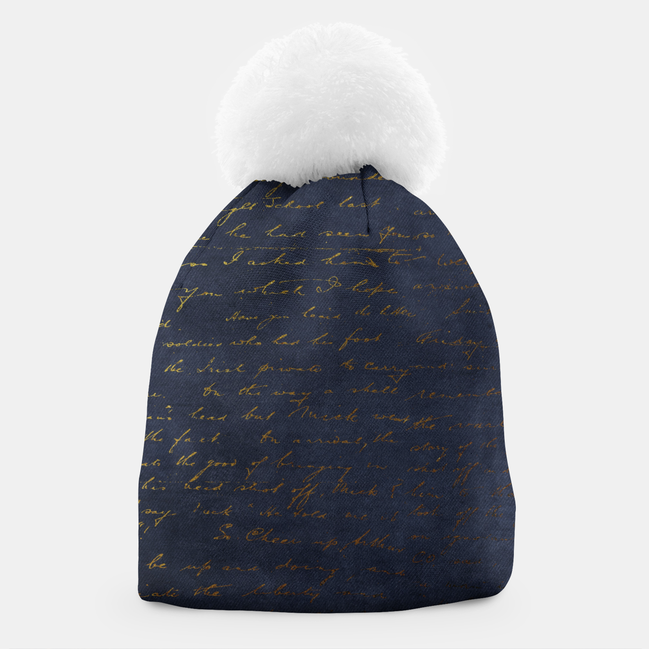 Image of Navy & Gold luxury pattern Czapka - Live Heroes