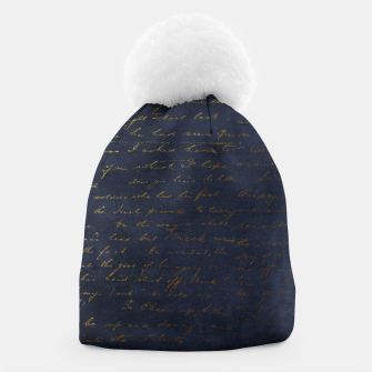 Navy & Gold luxury pattern Czapka thumbnail image