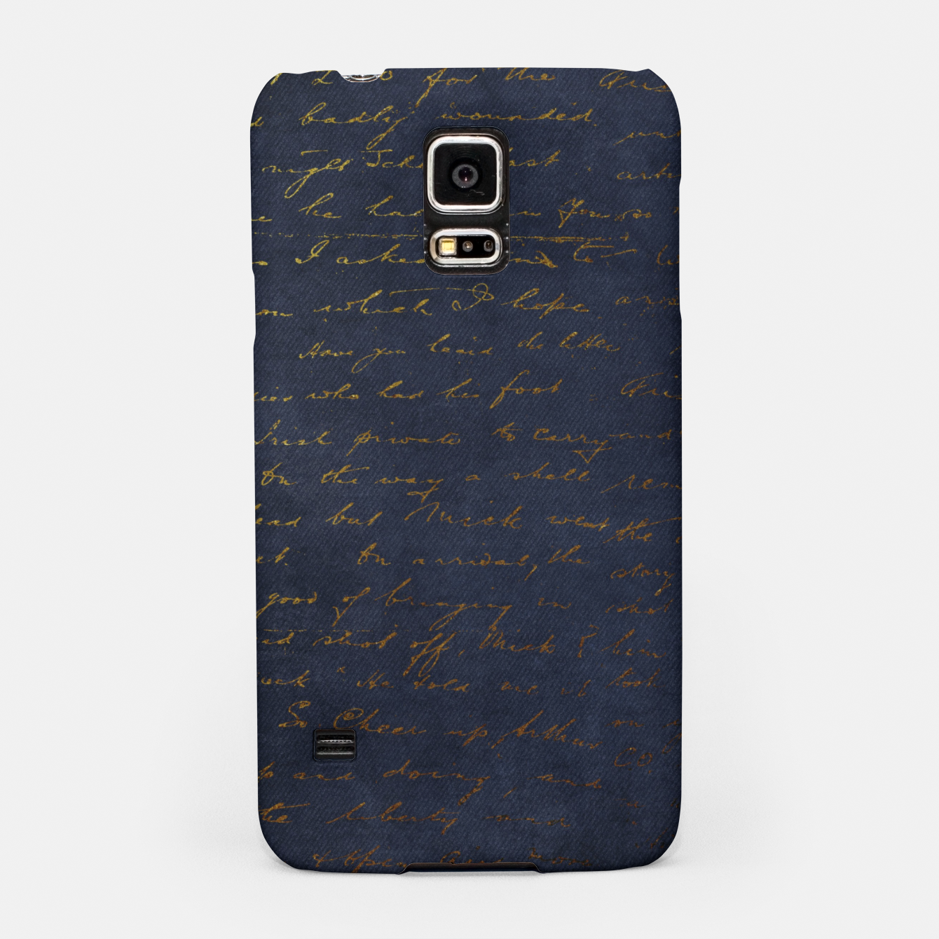 Image of Navy & Gold luxury pattern Obudowa na Samsunga - Live Heroes