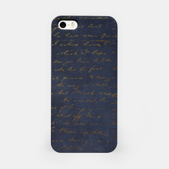 Navy & Gold luxury pattern Obudowa iPhone thumbnail image