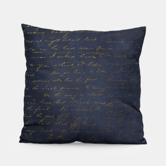 Navy & Gold luxury pattern Poduszka thumbnail image
