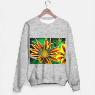 Thumbnail image of Orange and Yellow Flower Sweater regular, Live Heroes
