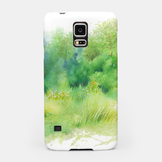 Miniatur watercolor Greenery Samsung Case, Live Heroes