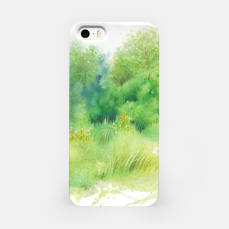 Thumbnail image of watercolor Greenery iPhone Case, Live Heroes