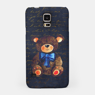 Thumbnail image of Teddy bear Samsung Case, Live Heroes