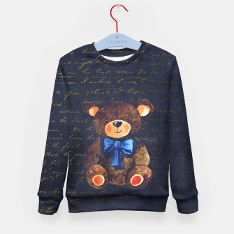 Thumbnail image of Teddy bear Kid's sweater, Live Heroes
