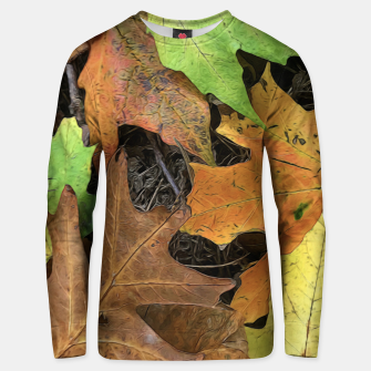 Miniaturka Early October Leaves 1 Unisex sweater, Live Heroes