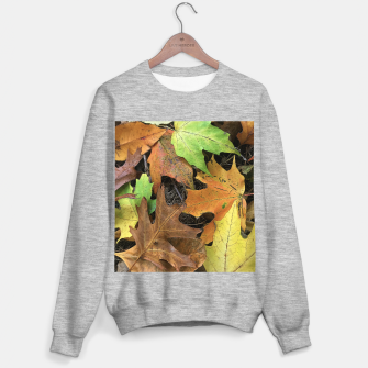 Thumbnail image of Early October Leaves 1 Sweater regular, Live Heroes