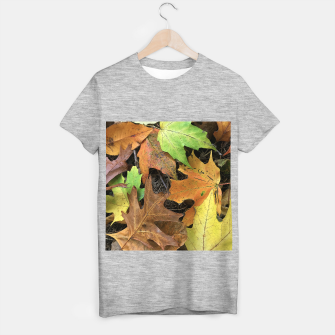 Thumbnail image of Early October Leaves 1 T-shirt regular, Live Heroes