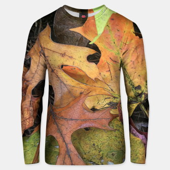 Miniaturka Early October Leaves 2 Unisex sweater, Live Heroes