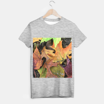 Thumbnail image of Early October Leaves 2 T-shirt regular, Live Heroes