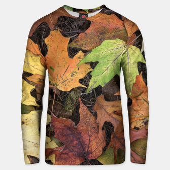 Miniaturka Early October Leaves 3 Unisex sweater, Live Heroes
