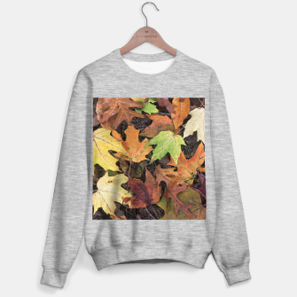 Thumbnail image of Early October Leaves 3 Sweater regular, Live Heroes