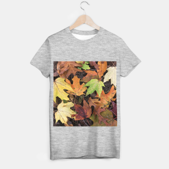 Thumbnail image of Early October Leaves 3 T-shirt regular, Live Heroes