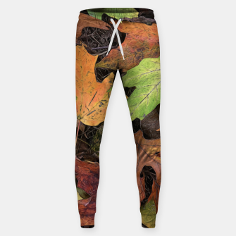 Thumbnail image of Early October Leaves 3 Sweatpants, Live Heroes