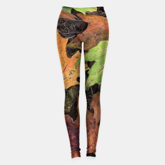 Thumbnail image of Early October Leaves 3 Leggings, Live Heroes